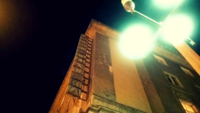 Nowa Huta neony Filatelistyka