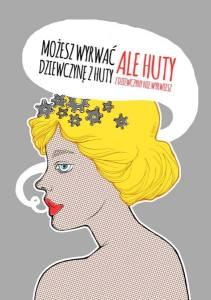 Grafika Agi Dębickiej z damskiego t-shirta (fot. UNICUT Facebook)