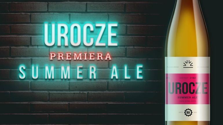 Urocze premiera Summer Ale